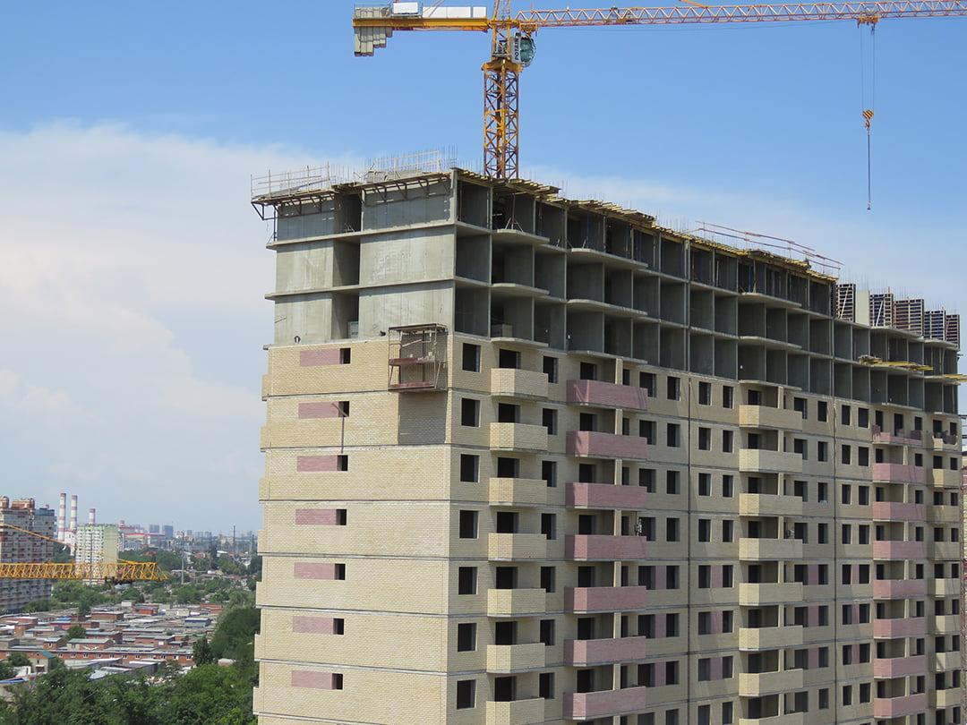 Отчет о строительстве ЖК «Почтовый», июль, 2020г.