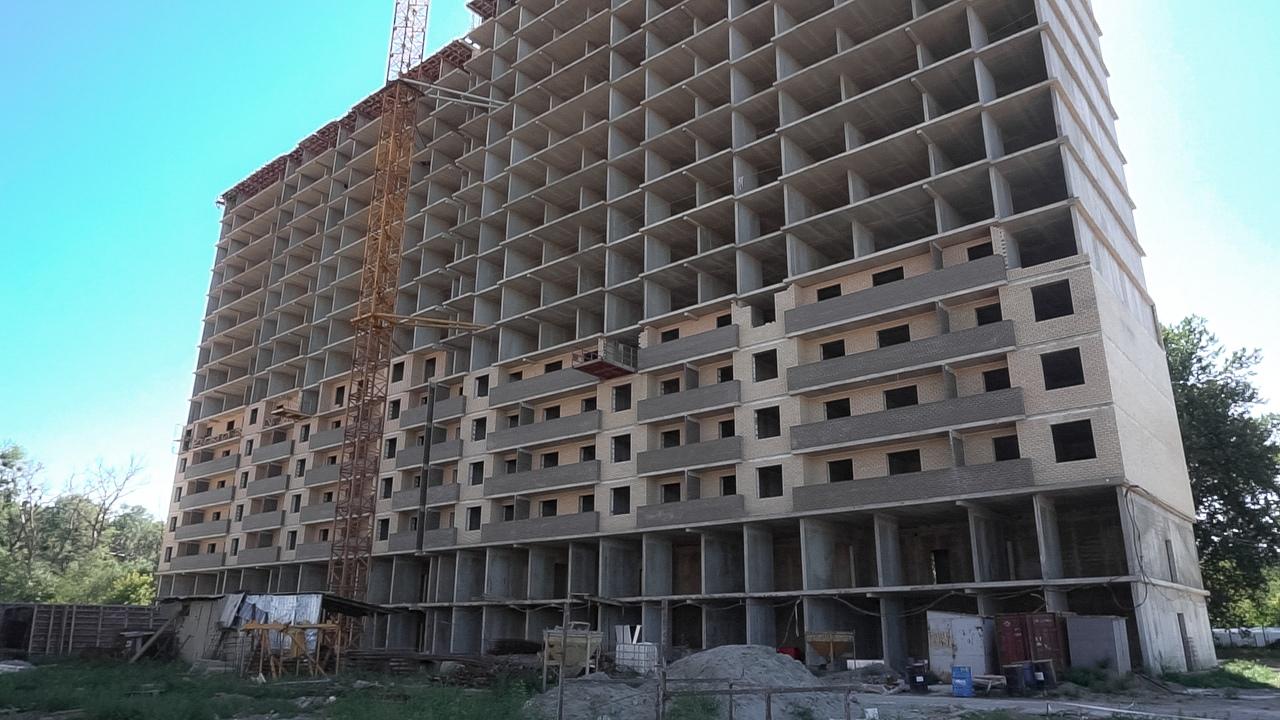 Отчет о строительстве ЖК «Поколение», август, 2020г.
