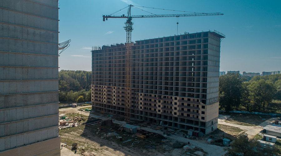 Отчет о строительстве ЖК «Поколение», сентябрь, 2020г.