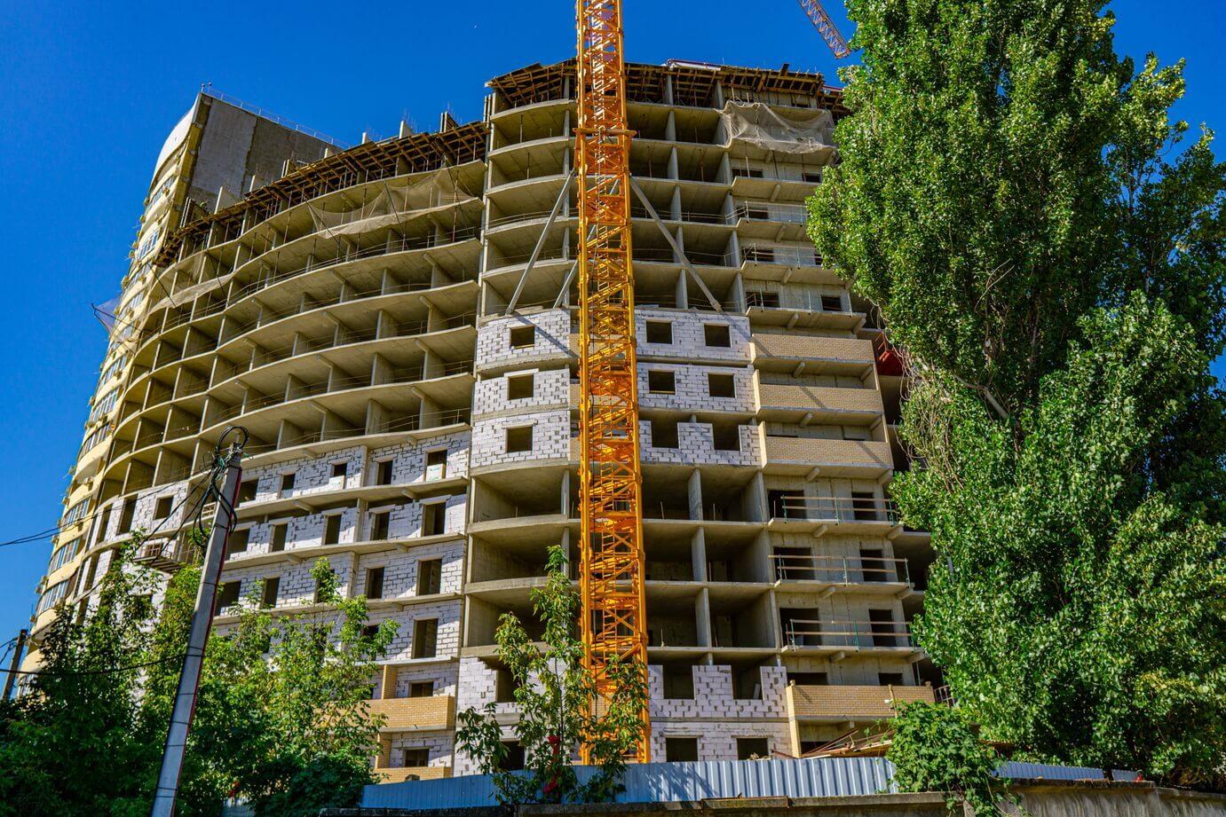 Отчет о строительстве ЖК «Радонеж», август, 2020г.