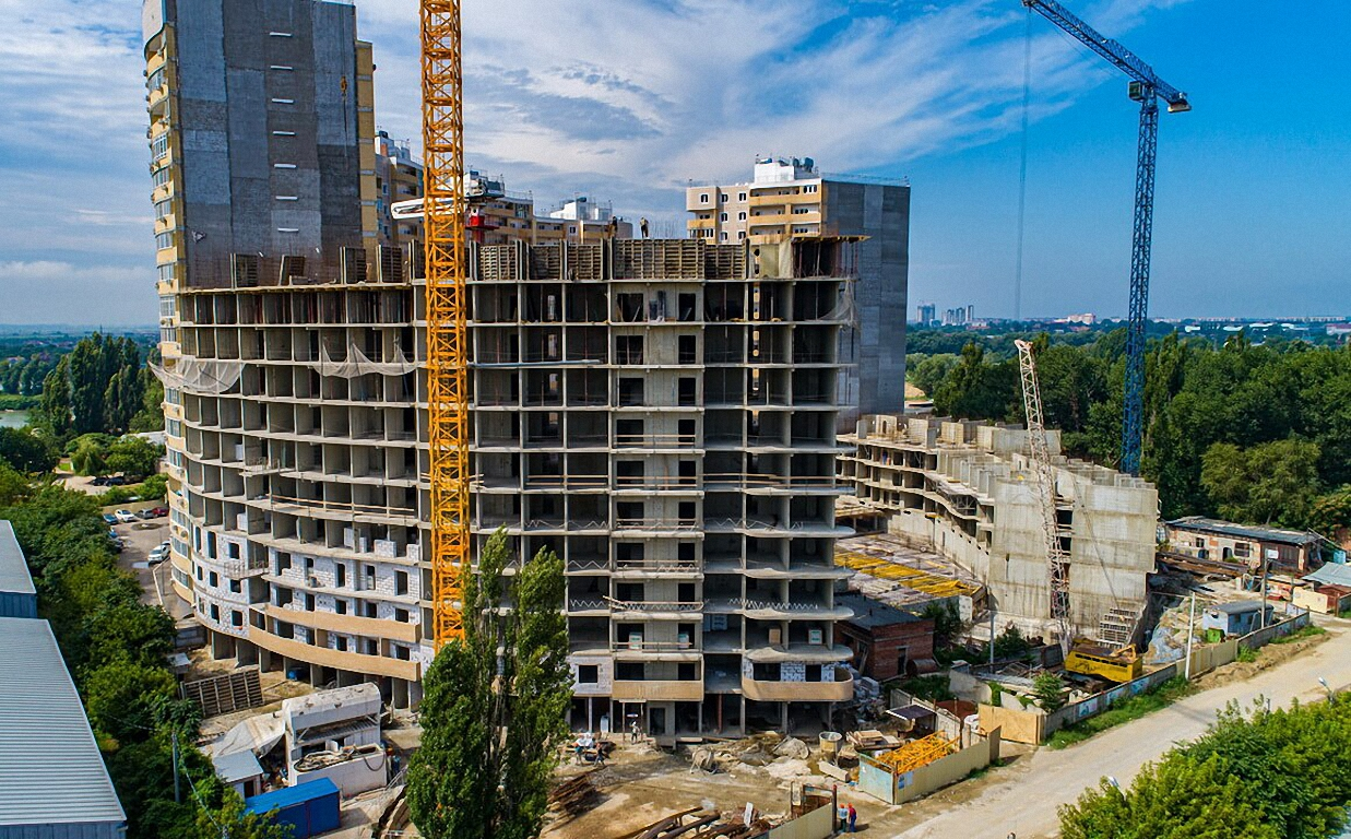Отчет о строительстве ЖК «Радонеж», июль, 2020г.