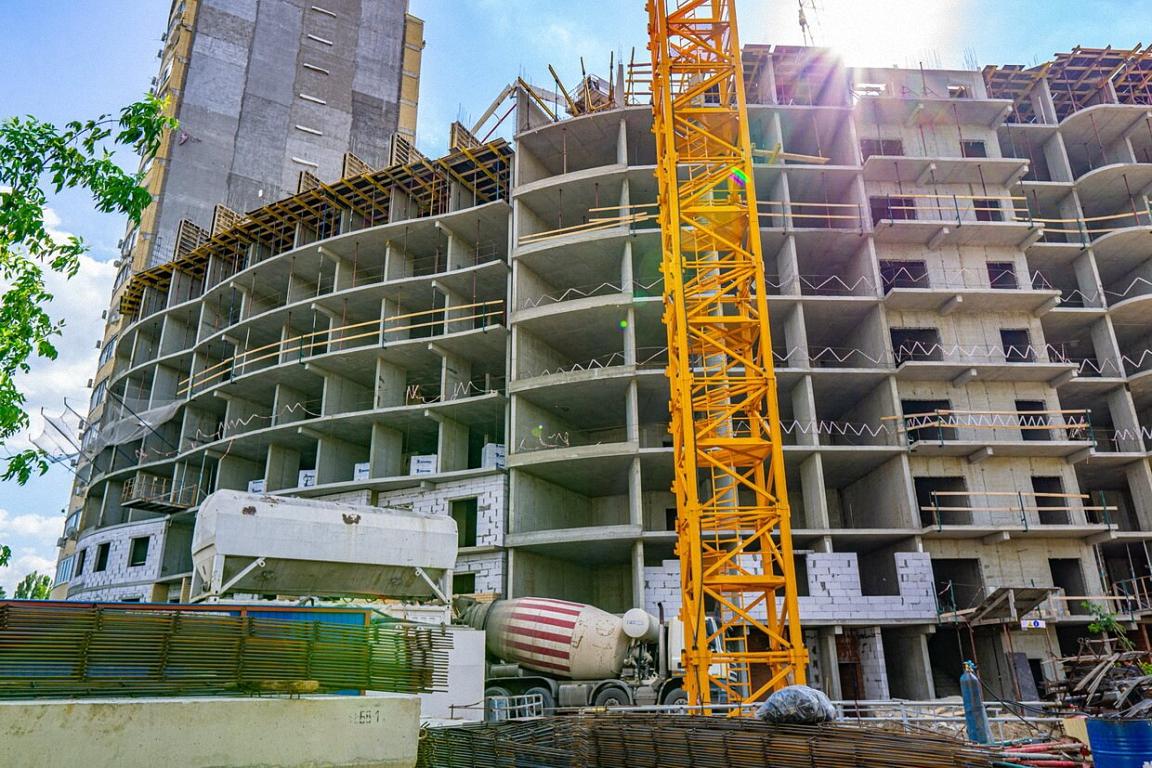 Отчет о строительстве ЖК «Радонеж», июнь, 2020г.