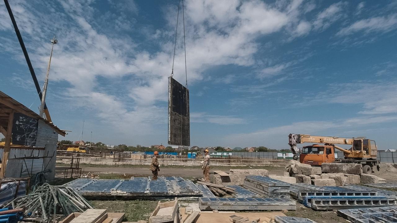 Отчет о строительстве ЖК «Ракурс», август, 2020г.