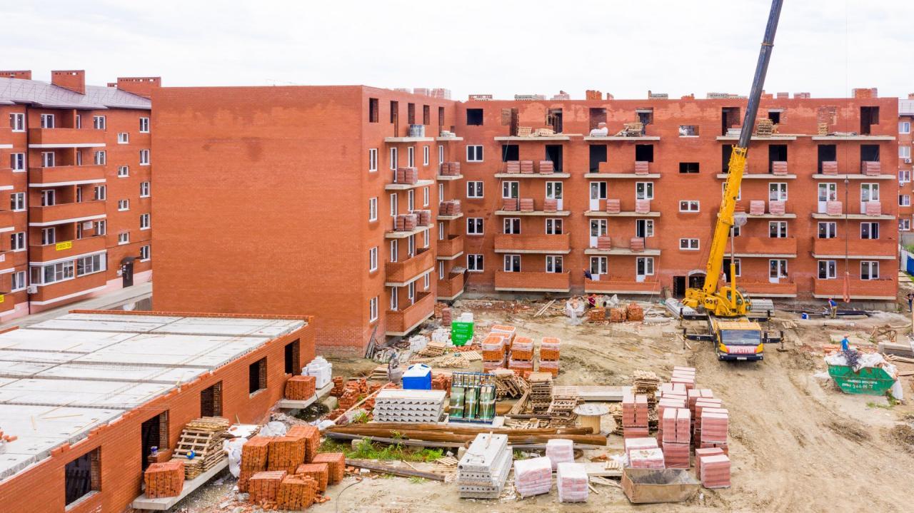 Отчет о строительстве ЖК «Родной дом», июль, 2020г.