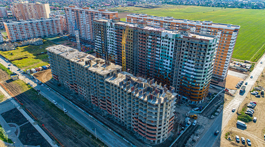 Отчет о строительстве ЖК «Россинский Парк», сентябрь, 2020г.