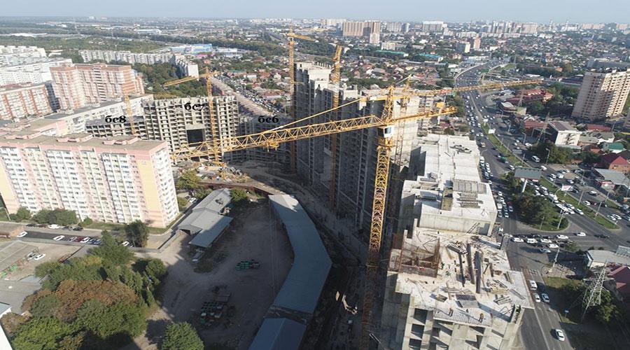 Отчет о строительстве ЖК «Сердце», сентябрь, 2020г.