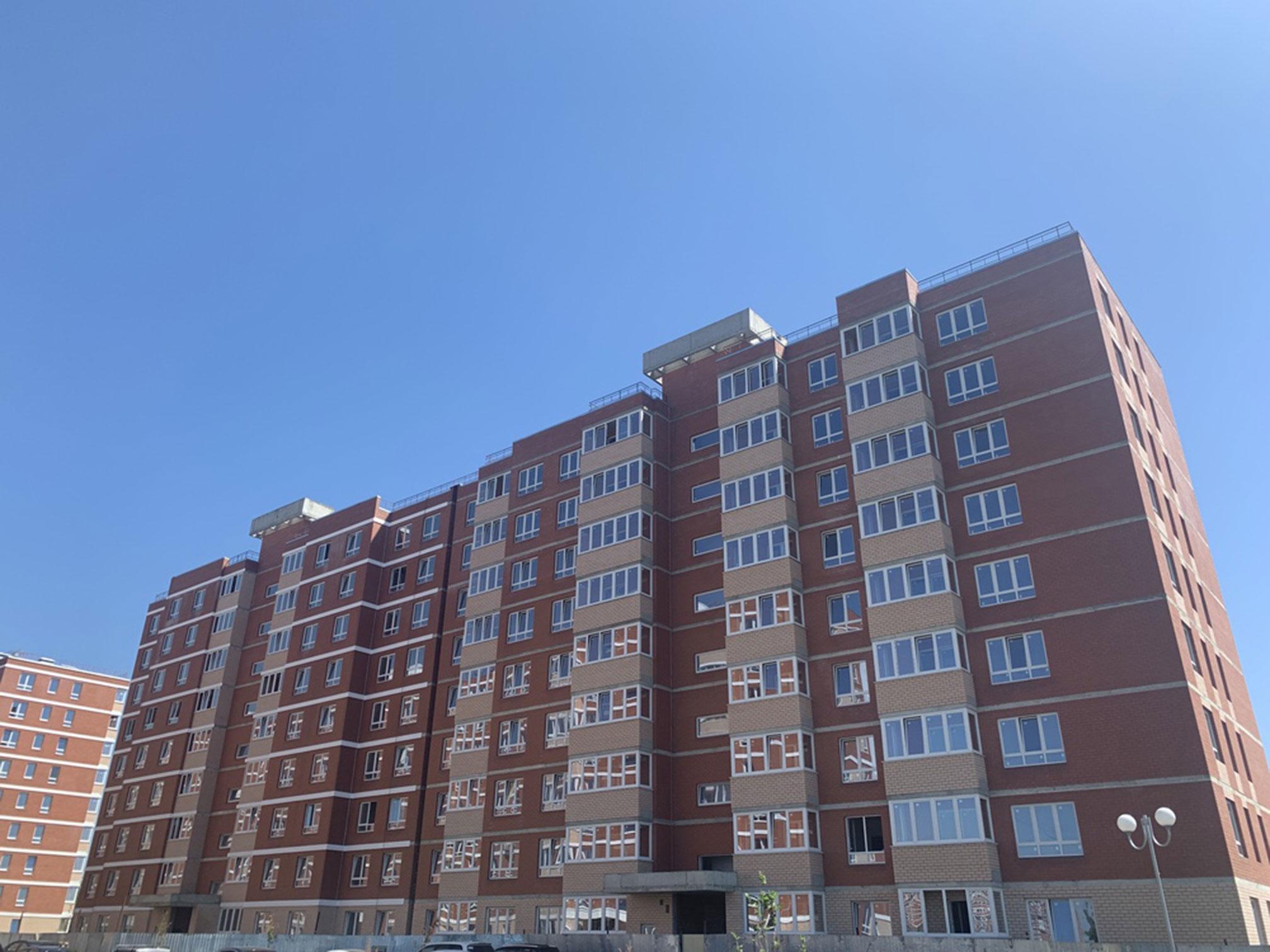 Отчет о строительстве ЖК «Спортивная деревня», август, 2020г.