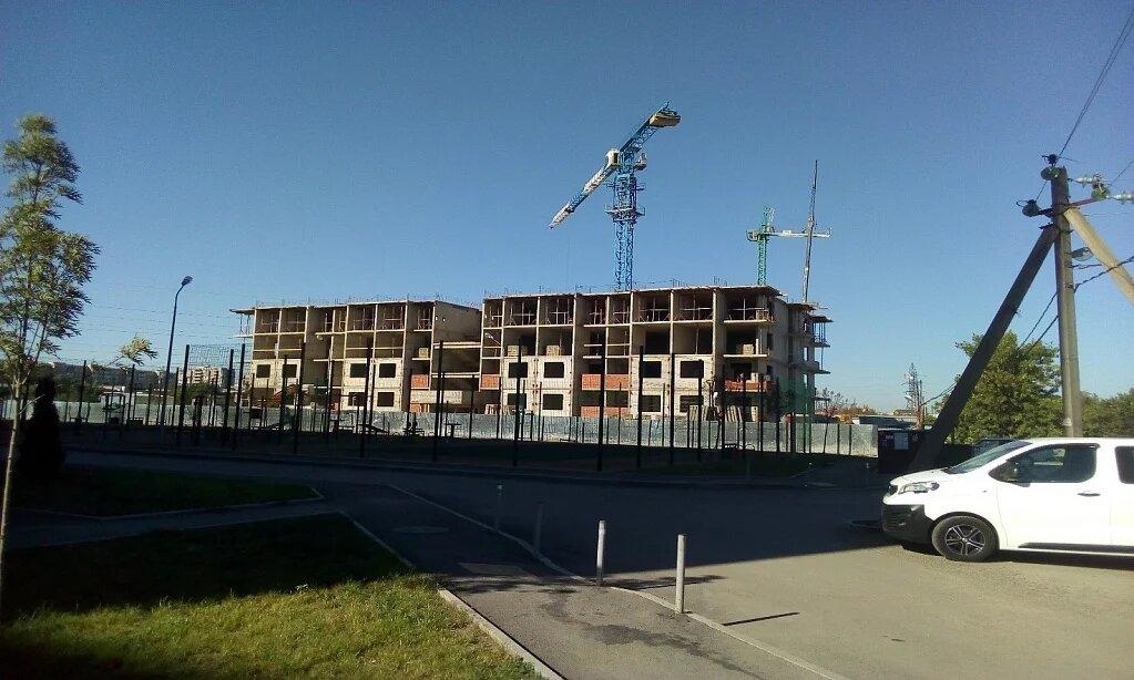 Отчет о строительстве ЖК «Спортивный парк», август, 2020г.