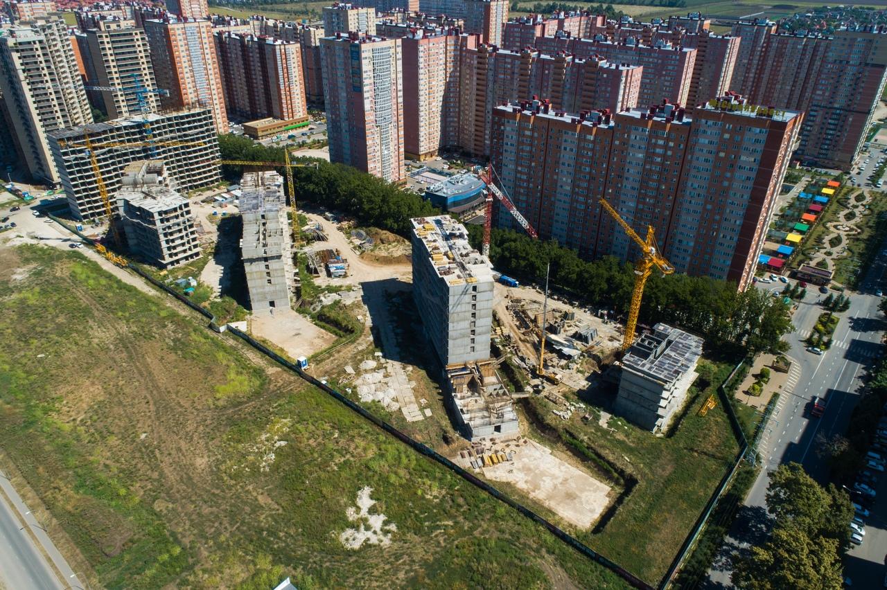 Отчет о строительстве ЖК «Свобода», август, 2020г.