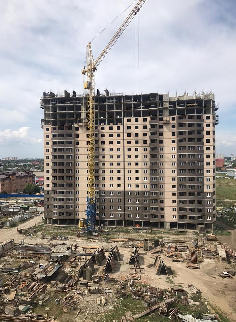 Отчет о строительстве ЖК «Тополиная», август, 2020г.