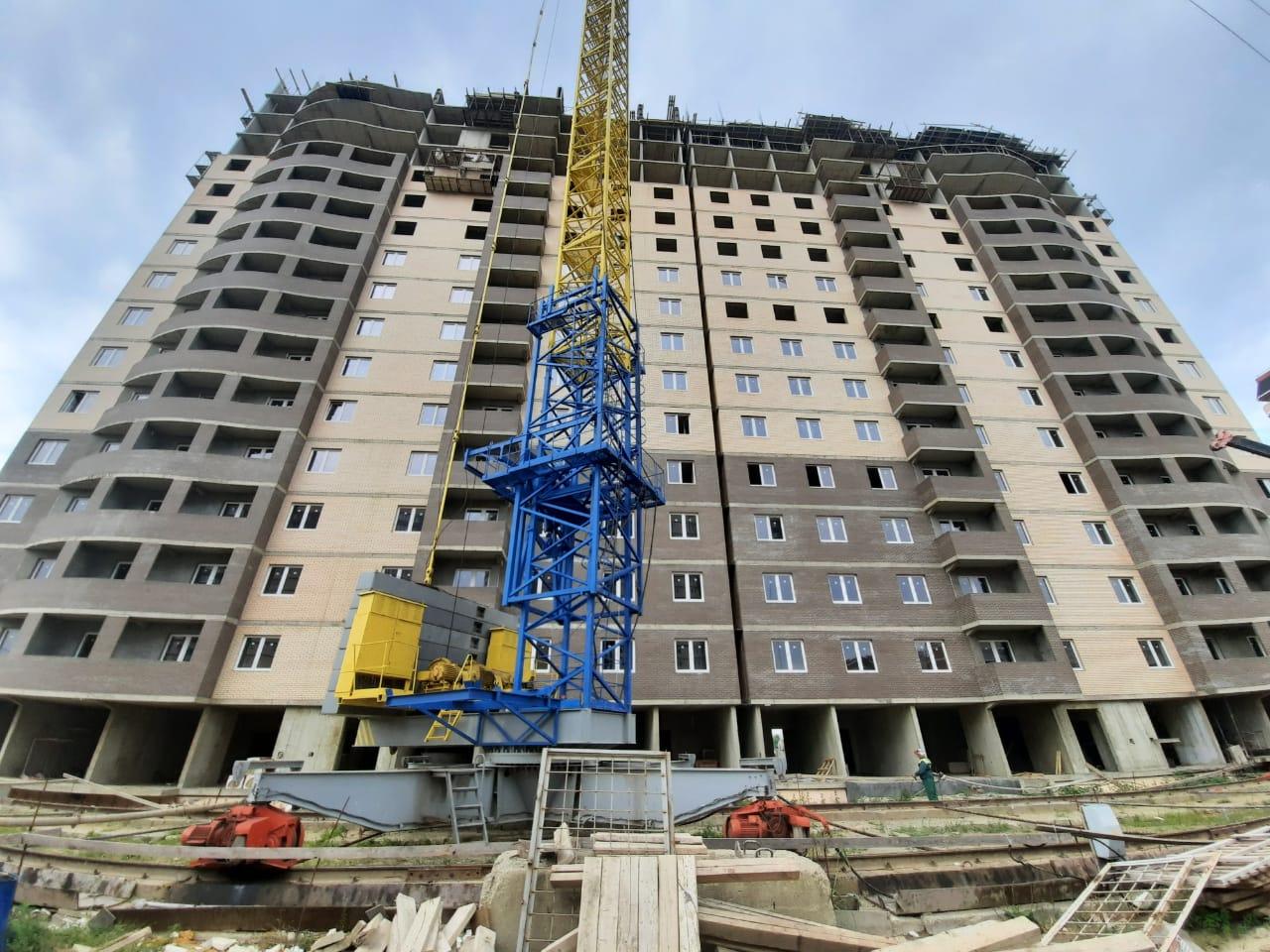 Отчет о строительстве ЖК «Тополиная», июль, 2020г.