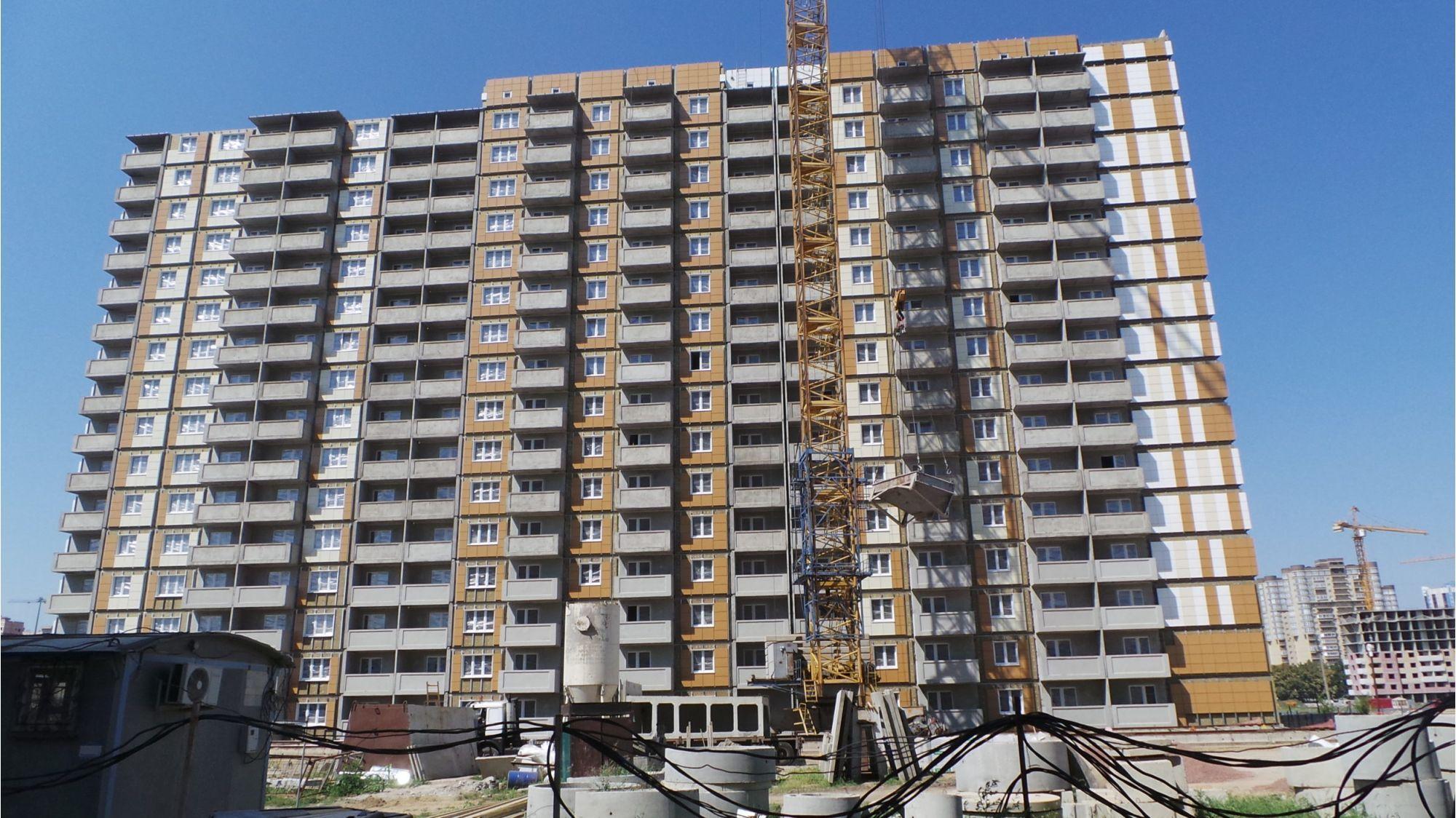 Отчет о строительстве ЖК «Восточно-Кругликовский», июнь, 2020г.