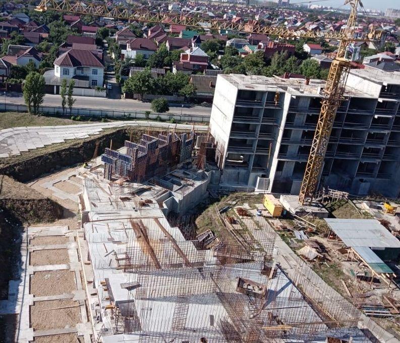 Отчет о строительстве ЖК «Зеленодар», август, 2020г.
