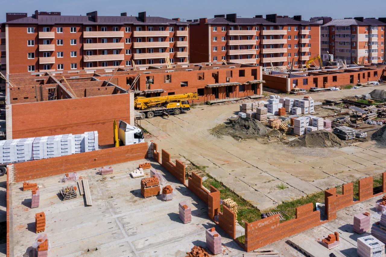 Отчет о строительстве ЖК «ДарГрад», сентябрь, 2020г.