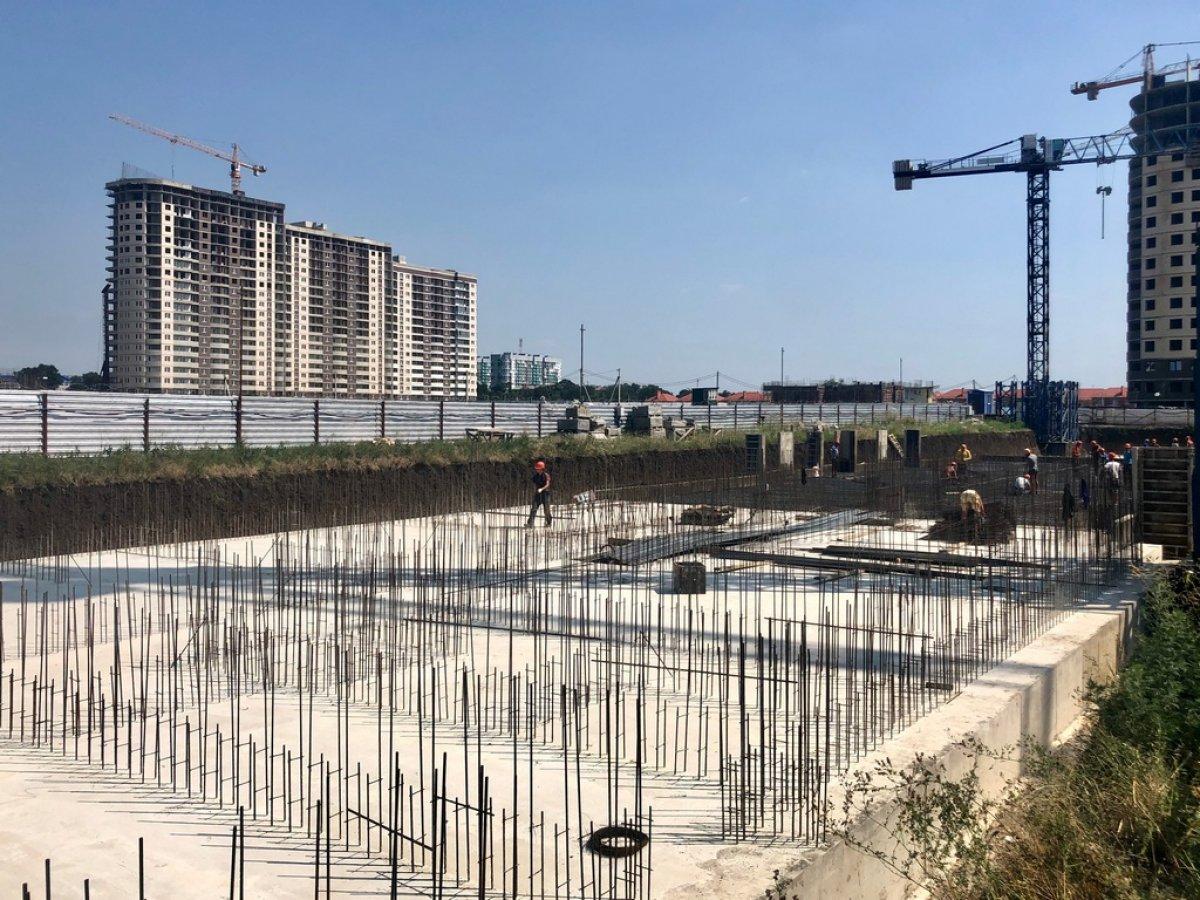 Отчет о строительстве ЖК «Дружный-2», август, 2020г.