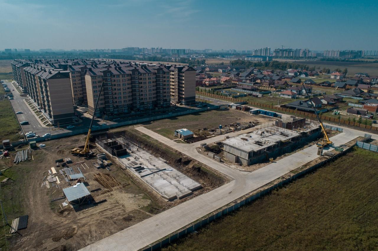Отчет о строительстве ЖК «Дыхание», сентябрь, 2020г.