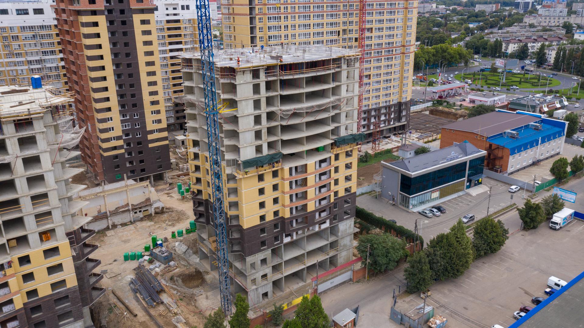 Отчет о строительстве ЖК «Элегант», сентябрь, 2020г.