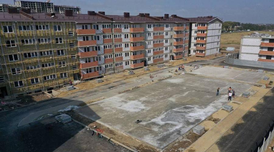 Отчет о строительстве ЖК «Краски», сентябрь, 2020г.