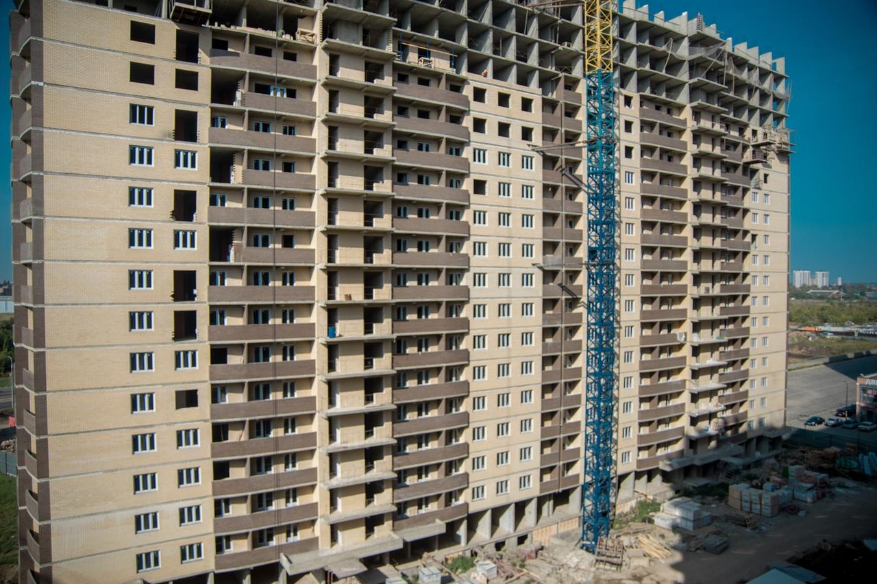 Отчет о строительстве ЖК «Лучший», сентябрь, 2020г.