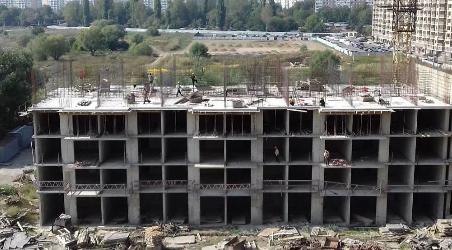 Отчет о строительстве ЖК «Мелодия», сентябрь, 2020г.