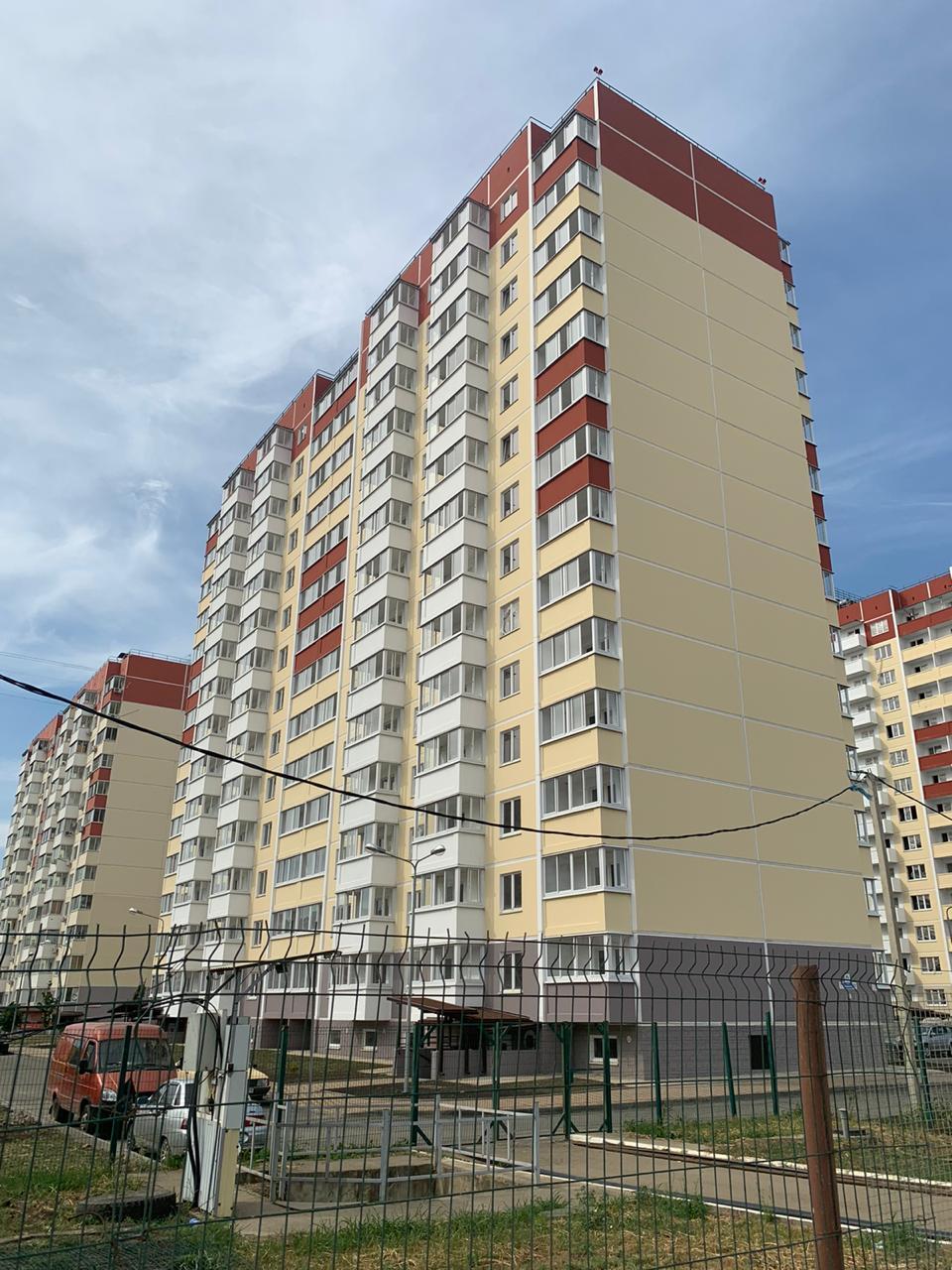 Отчет о строительстве ЖК «Молодежный», сентябрь, 2020г.