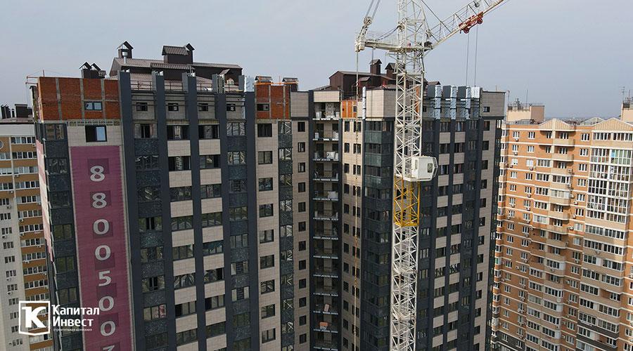 Отчет о строительстве ЖК «Олимп», сентябрь, 2020г.