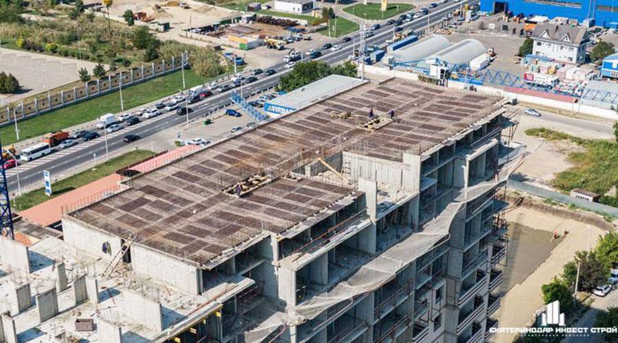 Отчет о строительстве ЖК «Олимпийский», сентябрь, 2020г.