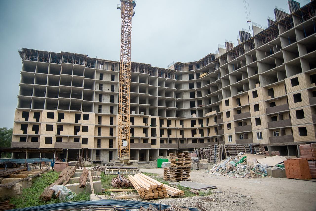 Отчет о строительстве ЖК «Открытие», сентябрь, 2020г.