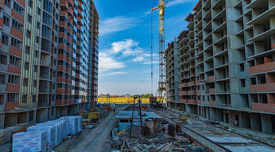 Отчет о строительстве ЖК «Россинский Парк», октябрь, 2020г.