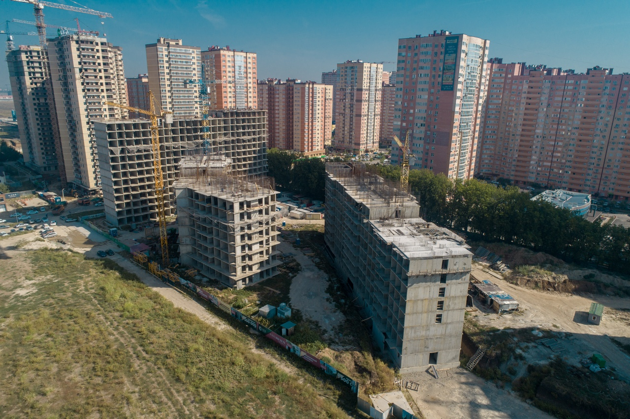 Отчет о строительстве ЖК «Свобода», сентябрь, 2020г.