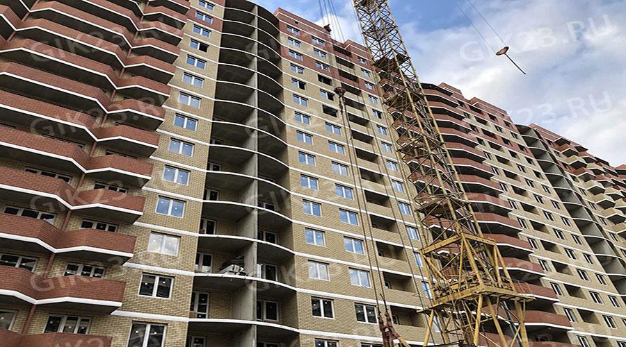 Отчет о строительстве ЖК «Времена года 3», октябрь, 2020г.