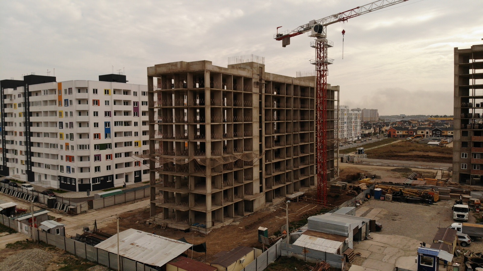 Отчет о строительстве ЖК «Южане», сентябрь, 2020г.