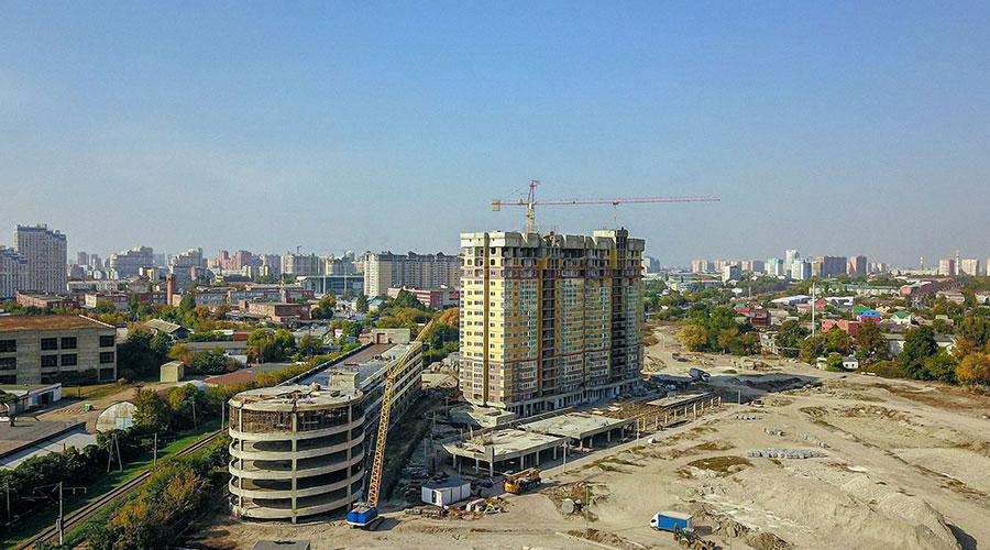 Отчет о строительстве ЖК «Все свои», октябрь, 2020г.