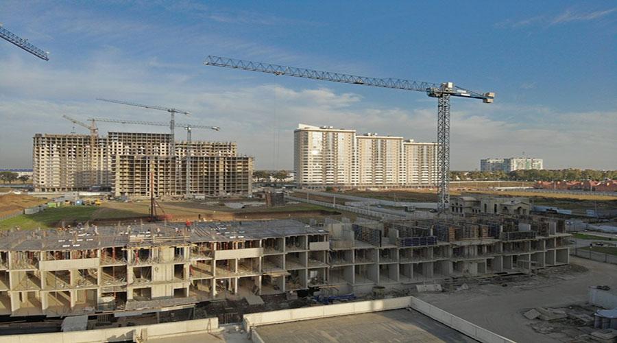Отчет о строительстве ЖК «Дружный-2», октябрь, 2020г.