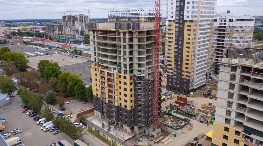 Отчет о строительстве ЖК «Элегант», октябрь, 2020г.
