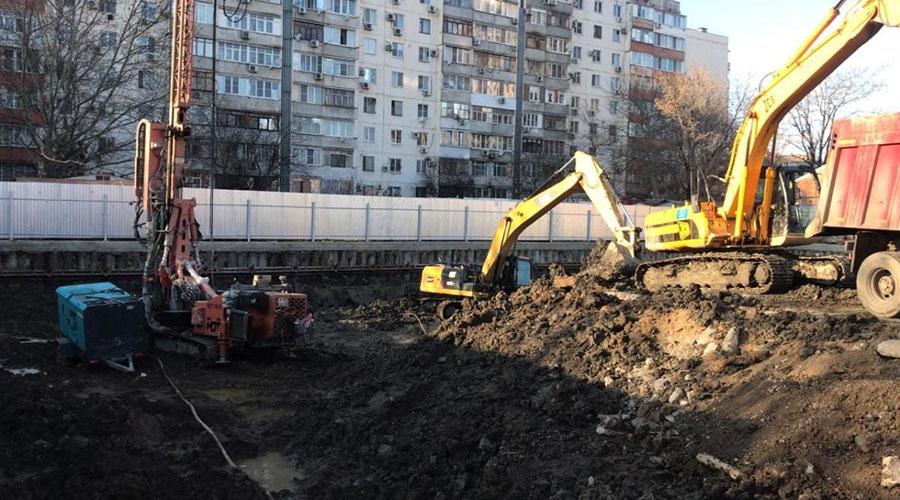 Отчет о строительстве ЖК «Graff Суворов», сентябрь, 2020г.