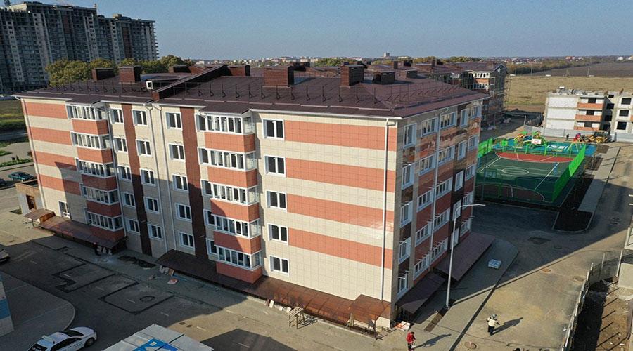 Отчет о строительстве ЖК «Краски», октябрь, 2020г.