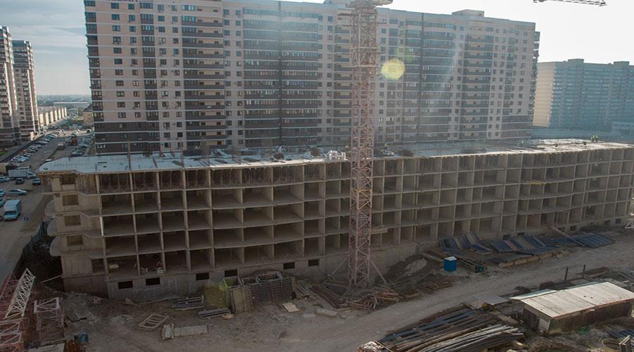 Отчет о строительстве ЖК «Лучший», октябрь, 2020г.