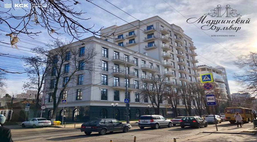 Отчет о строительстве ЖК «Мариинский бульвар», январь, 2019г.