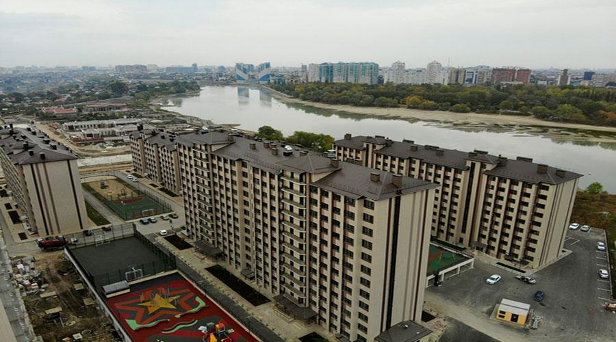 Отчет о строительстве ЖК «Мега Победа», октябрь, 2020г.