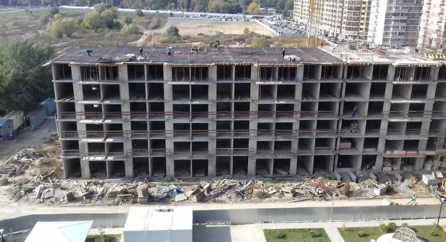 Отчет о строительстве ЖК «Мелодия», октябрь, 2020г.