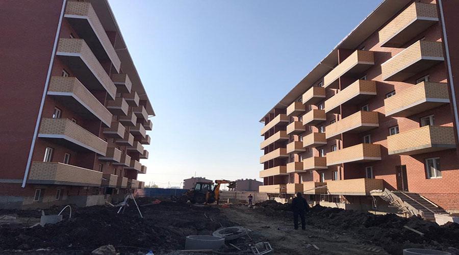 Отчет о строительстве ЖК «Оазис», октябрь, 2020г.