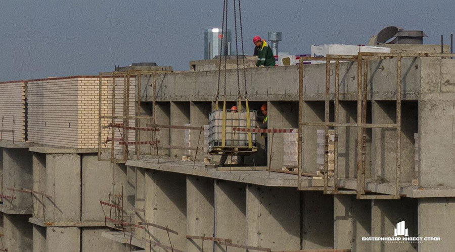 Отчет о строительстве ЖК «Олимпийский», октябрь, 2020г.