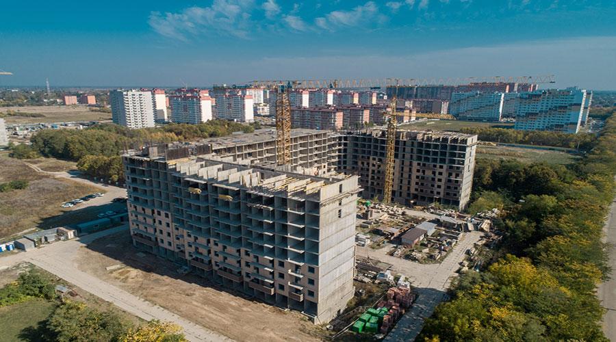 Отчет о строительстве ЖК «Открытие», октябрь, 2020г.