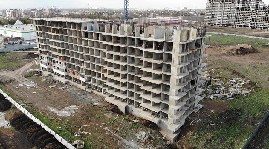Отчет о строительстве ЖК «Отражение», октябрь, 2020г.