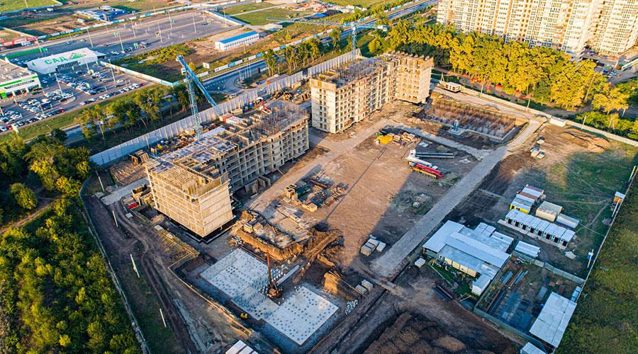 Отчет о строительстве ЖК «Парк Победы», сентябрь, 2020г.