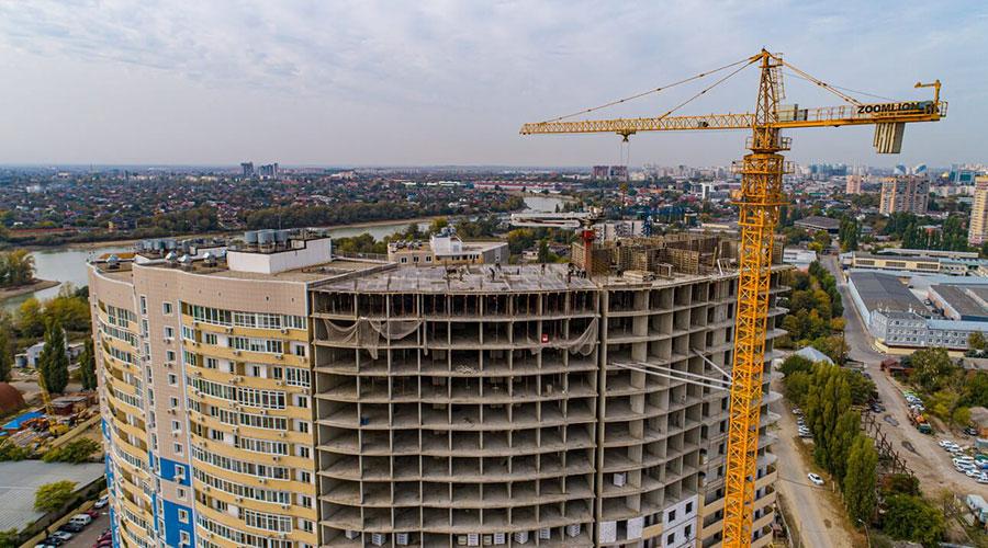 Отчет о строительстве ЖК «Радонеж», октябрь, 2020г.