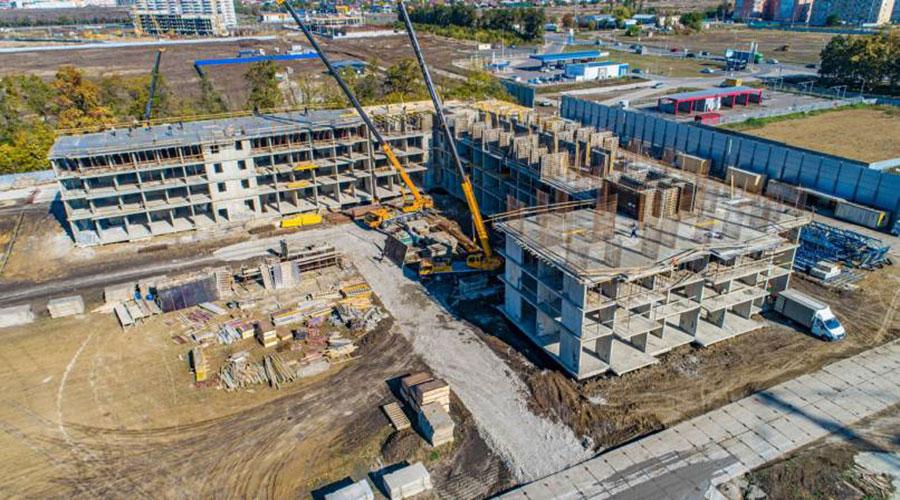Отчет о строительстве ЖК «Самолет 2», октябрь, 2020г.