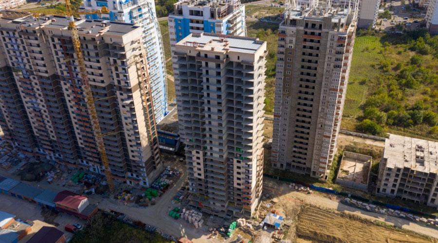 Отчет о строительстве ЖК «Стрижи», октябрь, 2020г.