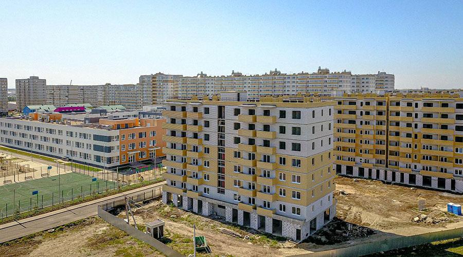 Отчет о строительстве ЖК «Светлоград», сентябрь, 2020г.